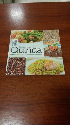Título: Cocina con quinua, el recetario del superalimento / Ubicación: FCCTP – Gastronomía – Tercer piso / Código:  G/PE/ 641.65655 C6