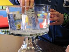 A neat experiment to show that air has mass when doing solids, liquids and gas...all explained