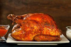 Buffalo Roasted Turkey with Blue Cheese Sauce   JuJu Good News