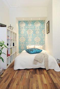 Inspiración para dormitorios pequeños | Decorar tu casa es facilisimo.com