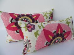 Floral Decorative Pillow Cover 12X20 Home Decor by PillowChix