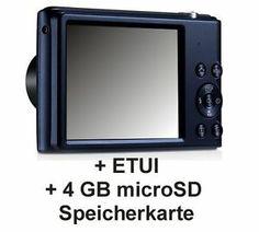Ultrafein und elegant, ist das ST72 mit einem 16 Megapixel CCD-Sensor und einem 5x optischen Zoom ausgestattet.