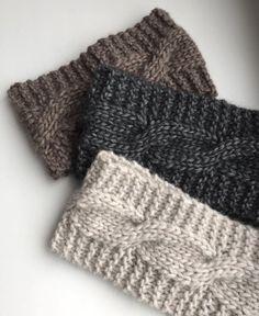 Knit headband Alpaca headband Cable Headband Women headband Wool Wide headband for women