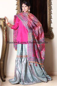 Soothing pink and blue Gharara. Order online this beautiful Gharara . Whatsapp, Mail or call us to order. #gharara #gharara4u #ghararadesign #GhararaStudio #weddingdress #wedding #weddingseason #weddingdresses #weddinggharara #weddinglehenga #bridaldress #bridalgharara #bridallehenga #fashion #fashion2015 #pink #blue #beautiful #lookroyal #lookgorgeous #gorgeous #sober #elegant #exclusive #embroidery #orderonline #customisedgharara #foryou #followus