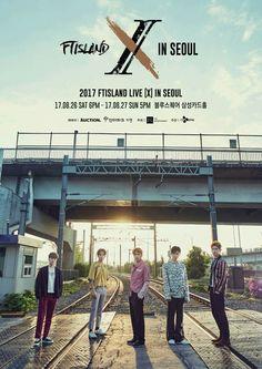 2017 FTISLAND LIVE [X] IN SEOUL 오픈공지   [공지 및 오픈일정] ※ 팬클럽 선오픈 : 7/24(월) 8PM ~ 25(화) 12PM ※ 일반 예매오픈 : 7/27(목) 8PM ~  ※ PRIMADONNA 팬클럽 가입 기간 : 7/5(수) ~ 7/14(금) 12PM ※ 예매처 인증 기간 : 7/20(목) 12PM ~ 7/25(화) 12PM  [공연정보] - 공연명: 2017 FTISLAND LIVE [X] IN SEOUL - 공연일시: 2017년 8월 26일(토) 6PM – 27일(일) 5PM - 공연장: 블루스퀘어 삼성카드홀 - 티켓가격 : 스탠딩 VIP 154,000원 / 스탠딩 R 99,000원 / 지정석 R 99,000원 * 스탠딩VIP는 A,B 구역 1~100번까지 이며, 공연 전 리허설 관람기회와 MD 상품이 포함되어 있는 패키지입니다. 제공해드리는 MD 상품은 추후 공지 예정입니다. - 주최 : ㈜FNC엔터테인먼트 - 주관 : CJE&M㈜…