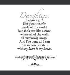Daughters- John Mayer