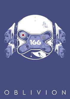 Oblivion Drone 166 Poster [Print Only] Oblivion Movie, Art Pass, Sci Fi Films, Alternative Movie Posters, Science Fiction, Design Art, Concept Art, Character Design, Poster Prints