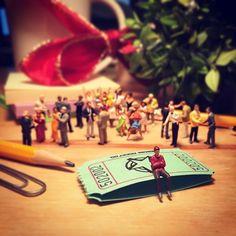 Festa da firma - Fotografias em miniatura por Derrick Lin;