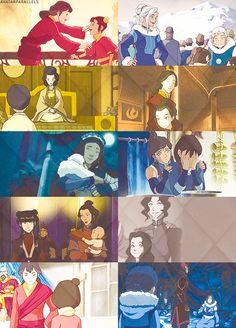 Avatar the Last Airbender/Legend of Korra: Mother-Daughter Relationships.