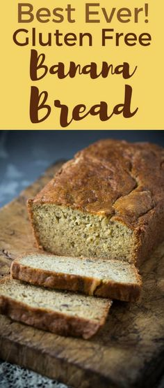 A Healthy gluten free banana bread recipe is dairy free too! you can make it eas… A Healthy gluten free banana bread recipe is dairy free too! you can make it easily with bananas, gluten free flour, sugar and dairy free buttermilk! Best Gluten Free Banana Bread Recipe, Dairy Free Bread, Best Gluten Free Desserts, Gluten Free Flour, Banana Bread Recipes, Dairy Free Recipes, Gluton Free Banana Bread, Loaf Recipes, Cake Recipes