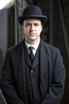 Kevin Doyle appeared in 46 episodes as unlucky butler-turned-valet-turned-footman Joseph Molesley.
