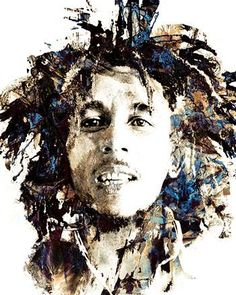 Aufkleber Sticker Bob Marley reggae hip hop rap jazz hard rock metal pop funk sticker