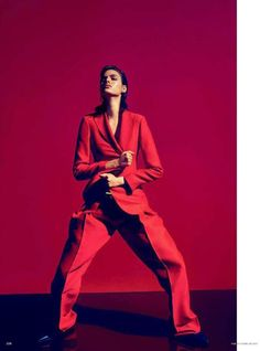 Vanessa Moody by Camilla Åkrans for Vogue Germany February 2015 - Fashion Copious