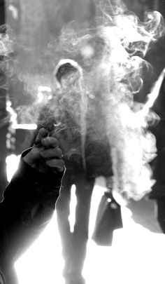 Smoke...photography by Anne Costello
