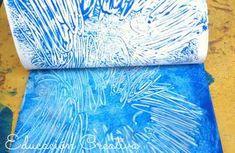 Una técnica muy creativa para trabajar el área artística con los peques. » Actividades manuales Theme Days, Beach Mat, Decorative Boxes, Outdoor Blanket, Arts And Crafts, Activities, Winter, Diy, Insects