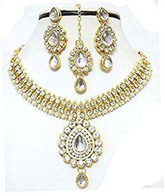 Ddivaa Ethnic Indian Bollywood Gold Plated White Stone Pa... https://www.amazon.com/dp/B074W2921B/ref=cm_sw_r_pi_dp_x_dY13zbQR75XN6