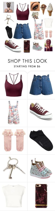 """""""Off to get and ice cream"""" by alicia-brockett ❤ liked on Polyvore featuring J.TOMSON, Valentino, Converse, Monsoon, Witchery, Givenchy and Puma"""