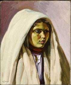 Habiba - John Lyman - The Athenaeum Habiba (also known as Young Tunisian Girl) John Lyman Musée des Beaux-Arts de Montréal Matisse, Woman Painting, Painting & Drawing, Modern Art, Contemporary Art, Montreal Museums, Cultural Diversity, Canadian Art, Museum Of Fine Arts