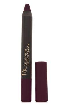 Primark - Velvet Matte Lipstick Crayon In Plum