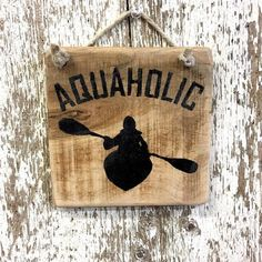 Canoe Camping, Canoe And Kayak, Kayak Fishing, Kayak Cart, Fishing Shirts, Saltwater Fishing, Fishing Tackle, Reclaimed Wood Signs, Painted Wood Signs