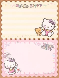 Hello Kitty cat drawing mini Letter Set from Japan 4 Sanrio Wallpaper, Hello Kitty Wallpaper, Sentimental Circus, Hello Kitty Pictures, Hello Kitty Birthday, Letter Set, Cat Party, Little Twin Stars, Stationery Paper