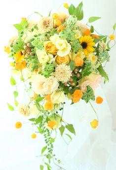 ブーケ ゆれるように 東郷記念館様へ : 一会 ウエディングの花