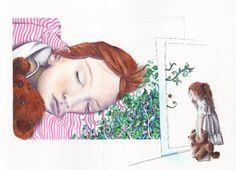 "Neues Portfolio bei dasauge: ""Arbeiten Illustration Anja Meyer"""