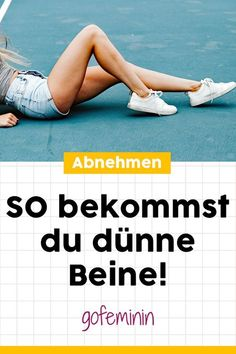 Do you want thinner legs? Then you should get THAT from today .- How do you get thin legs? The best tips and tricks # thinner legs # thin legs # slimming # slim legs - Fitness Workouts, Fitness Herausforderungen, Gewichtsverlust Motivation, Physical Fitness, Mens Fitness, Fitness Goals, Fun Workouts, At Home Workouts, Health Fitness