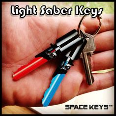 Open your door with the power of the force. These Lightsaber Keys will grant you access to not only the Millenium Falcon, but your home too! They come read...