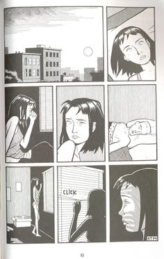 """""""Anniversary"""" from a volume of Optic Nerve by Adrian Tomine... I think we've all experienced this moment before."""