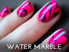 Water Marble, I want to try