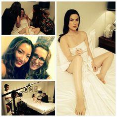 On Set #TheDress #Film #Actress @Amanda Greer  #hair #MichelleParkesHair On Set, Amanda, One Shoulder, Actresses, Film, Formal Dresses, Hair, Fashion, Female Actresses