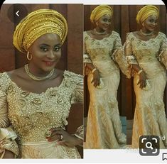 Enchanting aso ebi styles that will inspire you - Opera News Official African Lace Styles, African Lace Dresses, African Fashion Dresses, African Clothes, African Style, Ankara Styles, African Wear, African Attire, African Women