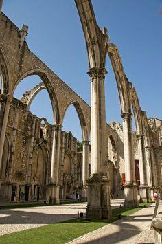 Carmo Convent Ruins - Lisbon, Lisboa
