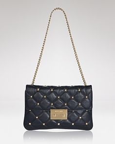 MICHAEL Michael Kors Clutch - Sloan Quilted | Bloomingdale's-