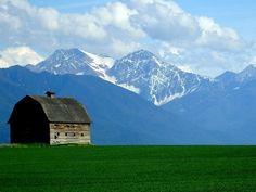 The Mission Mountains north of                       Ronan, Montana.                                                Mick Sullivan photo