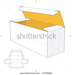 Long Box with Die-cut Layout