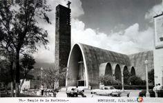 Fotos de Monterrey, Nuevo León, México: Templo de la Purisima  ( 1930-1950 )