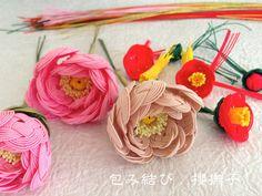 水引〜作品展に出展いたします〜 | 包み結び 櫻撫子のブログ Diy Flowers, Flower Diy, Fabric Ribbon, Handicraft, Quilling, Knots, Diy Crafts, Stitch, Paper