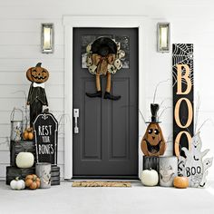 Who knew the creepy crawlies could be this cute? Entryway door for Halloween from Kirklands