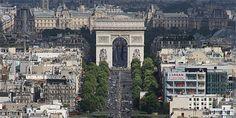 arisO que fazer Champs Elysees, Eurotrip, Paris, Brooklyn Bridge, Europe, Travel, Sidewalk, Viajes, Montmartre Paris