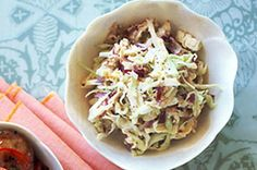 For the perfect accompaniment to a roast pork dinner, serve up this sweet apple coleslaw.