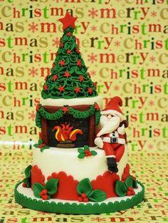 La torta di Natale  Cake by ArtedellaTorta
