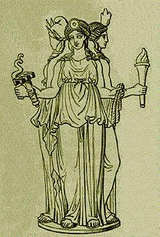 A Deusa Hekate, por Foster All - Oficina das Bruxas