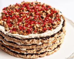 Pavlova, Meringue, Sweet Recipes, Tiramisu, Sweet Tooth, Pie, Gluten Free, Breakfast, Ethnic Recipes