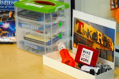 Low cost activity, build a flashlight, Library Maker Space | Kaechele Learning Commons | TinkerLab.com