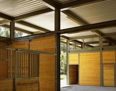 Somis Hay Barn stables, SPF Architects