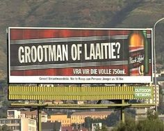 Grootman of Laaitie? South African News, Old Advertisements, Afrikaans, Hoe, Qoutes, How To Plan, Drinks, Words, Label