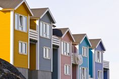 Nuuk, Greenland  This photo is from buzzfeed.com's list of 'The 24 most colorful cities in The World'