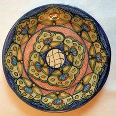 Decorative Plate [ MexicanConnexionforTile.com ] #design #Talavera #Mexican